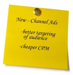 post it note on smm ads