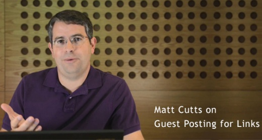 matt cutts guest posting for links