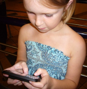 young text messager