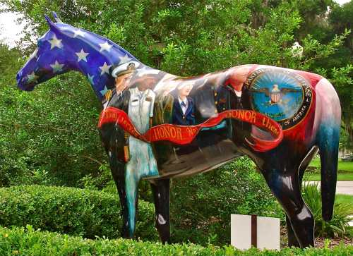 painted horse patriot